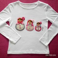 El producto 3 MATRIOSKAS INFANTIL MANGA LARGA lo vende día tras día en nuestra tienda Tictail.  Tictail te permite crear gratis bonitas tiendas en línea - tictail.com