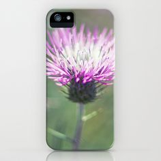 Purple Flower iPhone & iPod Case by Richard Torres Photo - $35.00