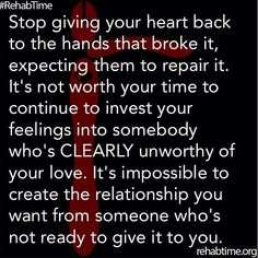 Guard your heart.....