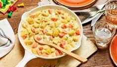 MAGGI Rezeptidee fuer Cremige Kartoffel-Gemüse-Pfanne