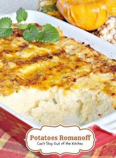 Potatoes Romanoff | Potato Recipes | Pinterest | Potatoes and Html