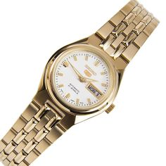 A-Watches.com - Seiko 5 SYMK46K1 SYMK46 White Dial Automatic Luminous Hands Markers Classic Day Date Women Watch, $111.00 (http://www.a-watches.com/seiko-5-symk46k1-symk46-white-dial-automatic-luminous-hands-markers-classic-day-date-women-watch/)