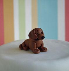 Dachshund Cake Topper Uk