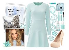 """""""Always Have Fun With Fashion"""" by angelstylee ❤ liked on Polyvore featuring Shoshanna, Charles by Charles David, Essie, Mally, Topshop, philosophy and Clinique"""