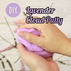 This lavender cloud putty will help you massage away your stress