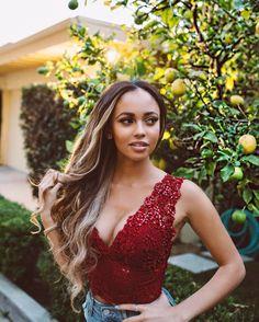 "6,376 Likes, 94 Comments - Vanessa Morgan (@vanmorganxo) on Instagram: ""Happy International Women's day my ladies! ❤️❤️❤️❤️ Wearing red to support my sisters who…"""