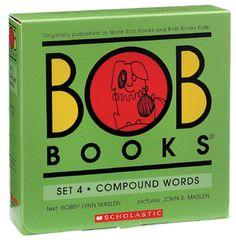 BOB Books Set #4: Compound Words - Paperback - The Scholastic Store #Read11Books