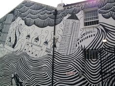 outside facade of XL recordings   #streetart #art #dope #graffiti