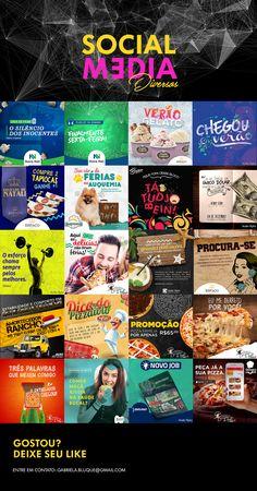 Social Media   Mídias Sociais - Direção de Arte on Behance