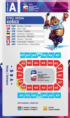 Eishockey WM 2019 IIHF Weltmeisterschaft ice hockey world champ Tickets reserve Ticket, Bratislava, Great Britain, Finland, Denmark, Germany, France, Map, World Cup