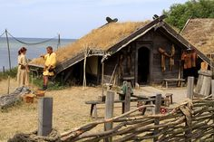 Vikings (Sweden). 'There are still real, live Vikings, and you can visit them at one of Sweden's most absorbing attractions. An evocative 'living' reconstruction of a late–Viking Age village, Foteviken Viking Reserve was built on the coast near the site of the Battle of Foteviken. You can tour all of these, check out the great meeting hall, see a war catapult and buy Viking-made handicrafts.' http://www.lonelyplanet.com/sweden/skane/sights/historic-site/foteviken-viking-reserve