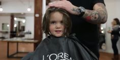 3-Year-Old Girl's Gift to Cancer Patients -- Her Hair.  So sweet; kids get the important things, the things we complicate as we get older.  Reminds me that my investing in my children's hearts is my most important job right now! (VIDEO)