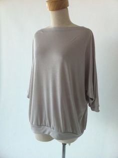 The Batwing top from the 6-wk Jersey sewing course.