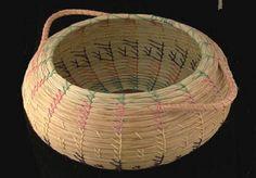 Seminole sweetgrass basket. The Seminole Tribe of Florida.