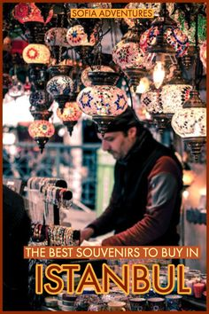 15 Fantastic Turkish Souvenirs to Bring Home with You - Sofia Adventures - - Planning a trip to Turkey and looking for shopping inspiration? Here are our favorite Turkish souvenirs to pick up while exploring Istanbul and beyond. Turkey Pics, Grand Bazaar Istanbul, Travel Tours, Travel Souvenirs, Travel Ideas, Travel Guide, Perfect Road Trip, Istanbul Travel, Air Balloon Rides