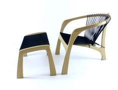 Morten Stenbaek /Bulldog Chair - Dansk Design Stol Eg / Ask - Flagline ;