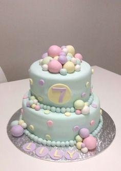 Pastel ball cake Ma Baker, Birthday Cake, Pastel, Desserts, Food, Birthday Cakes, Cake, Meal, Deserts