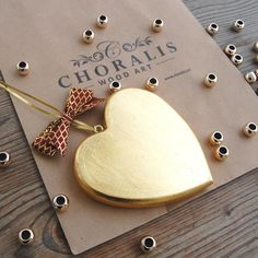 Valentine's Day is just round the corner! Give something special this year to your loved one. Our Valentine's Day Edition is full of unique beautiful gifts. Unique Valentines Day Gifts, Golden Heart, Heart Wall, Beautiful Gifts, Wooden Jewelry, Handmade Wooden, Luxury Gifts, Clear Crystal, Wood Art