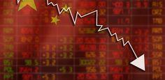 Bolsa da China despenca 6,38% e arrasta Bolsas da Ásia para baixo
