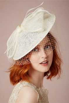 Unveiled: 20 Non-Traditional Veils for the Modern Bride via Brit + Co.