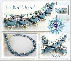 Avec les nouvelles couleurs de Khéops® par Puca ® Rainbow Des idées ? avec le collier