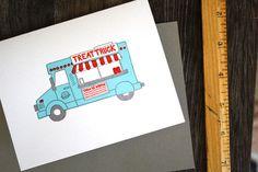 treat truck stationary by Printerette Press