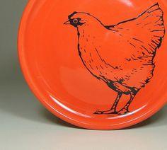 Clementine Chicken Plate