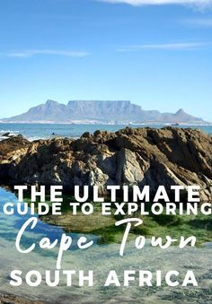 The Ultimate Guide to Exploring Cape Town South Africa. Cape Town is a multicultural city of astounding beauty… a patchwork quilt intricately woven with the threads of South African history, mouthwatering cuisine, amazing architecture, fashion and music. And let's not forget about the iconic landmark of Table Mountain! The city is also becoming one of the most desired places to visit for travelers with …