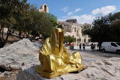 Catawiki online auction house: Manfred Kielnhofer - Guardians of Time gold color Modern Sculpture, Sculpture Art, Major Events, Festival Lights, Light Art, Virtual World, Breitling, Statue Of Liberty, Auction