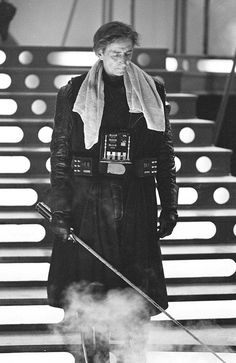 Stuntman Bob Anderson. But David Prowse was the man who actually wore the Darth Vader costume