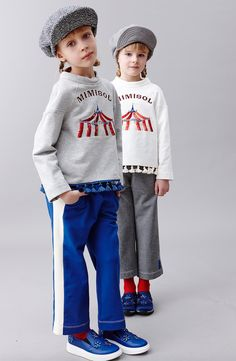 The Circus is a big theme trend for kids fashion fall 2016