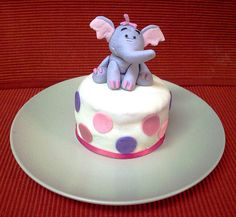 Heffalump Mini Cake by Kim C. (NJ), via Flickr