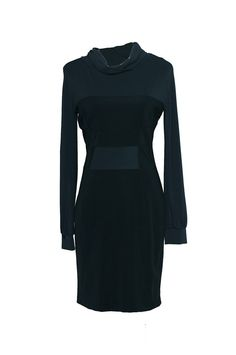 Versace Jeans Black Cowl Neck Dress, £185.59 at Fashionista Outlet - http://www.fashionista-outlet.com/versace-jeans-black-cowl-neck-dress.html
