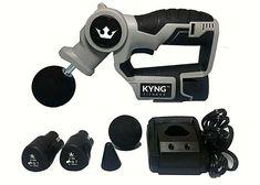 Kyng Fitness Professional Deep Muscle Massager Handheld Percussion - Massage Gun  ( 43 Bids )