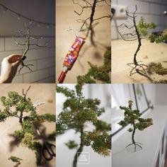 Magiczny las w słoiku Plant Hanger, Ladder Decor, Garden, Kitchen, Plants, Home Decor, Cooking, Homemade Home Decor, Garten