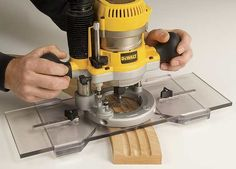 Arched Fluting Jig Router Base Plate