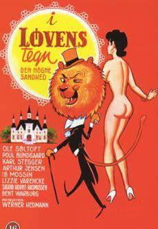 I løvens tegn (1976) to ældre damer skriver en meget uartig bog, og for at få den udgivet, udgiver de den i en andens navn.