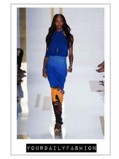 diane von furstenberg at new your fashion week