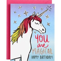 You Are Magical Birthday Card