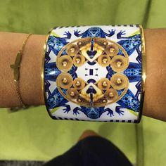 Vargara Collection - Flor Amazona Cuff Bracelets, Bangles, Bracelet Designs, Wire, Metal, Jewelry, Amazons, Colombia, Bracelets