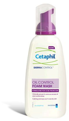 DERMACONTROL TM Oil Control Foam Wash. Purchased this product last week and its GREAT! After trying this face wash for my sensitive/oily skin for a week my skin feels and looks the best it has been in a long while. This is definite repurchase.