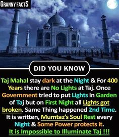 Mumtaz but first it was the Shiva temple Wow Facts, Real Facts, Wtf Fun Facts, Funny Facts, Random Facts, Interesting Science Facts, Interesting Facts About World, Unbelievable Facts, Amazing Facts