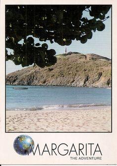 Postales venezolanasPlaya de Pedro Gonzalez - Isla de Margarita - Estado Nueva Esparta