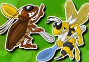 Saldırı Böcekleri oyununda karnı acıkmış olan böceklerin mutfakta ilerlemelerini sağlamalısınız. Mutfakta böcekleri ilerleterek aç olan karınlarının doyurmalısınız. http://www.3doyuncu.com/saldiri-bocekleri/