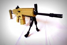 3D Printed Airsoft Gun Just produced: http://3dprint.com/the-3d-printed-airsoft-gun/
