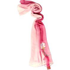 TRUE LOVE 100%silk scarf by MISS CRIMSON