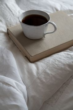 """Favorite quote: """"Coffee is far more than a beverage. It is an invitation to life, disguised as a cup of warm liquid. It's a trumpet wakeup call or a gentle rousing hand on your shoulder...Coffee is an experience, an offer, a rite of passage, a good excuse to get together.""""   Nichole Johnson, Fresh Brewed Life"""