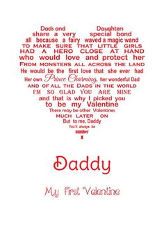 Another awesome greeting card created for by Unique Words Jersey. Daddy Valentine, Christmas Thank You, Unique Words, Thank You Cards, First Love, Greeting Cards, Awesome, Appreciation Cards, First Crush