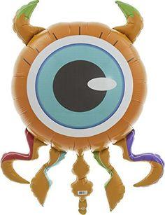 Eyeball Monster Helium Foil Balloon   38 inch. #Eyeball #Monster #Helium #Foil #Balloon #inch