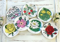 集めたくなる可愛いシリーズ  アラビア/ARABIA ボタニカ/Botanica ワイルドストロベリー/Fragaria vesca ウォールプレート